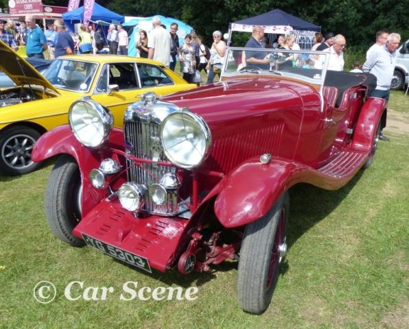 c.1934 Lagonda 4 1/2 Lltr. Tourer front three quarters view