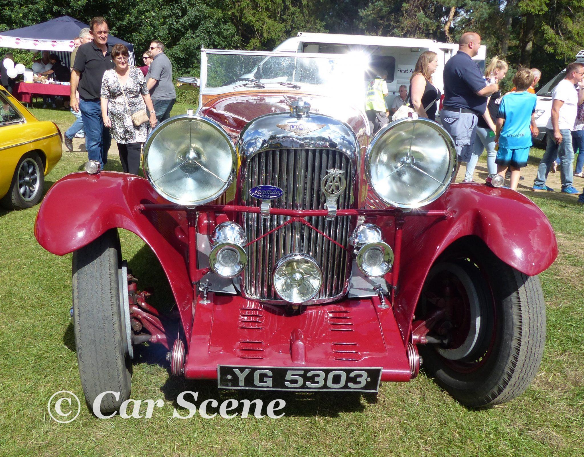 c.1934 Lagonda 4 1/2 Lltr. Tourer front view