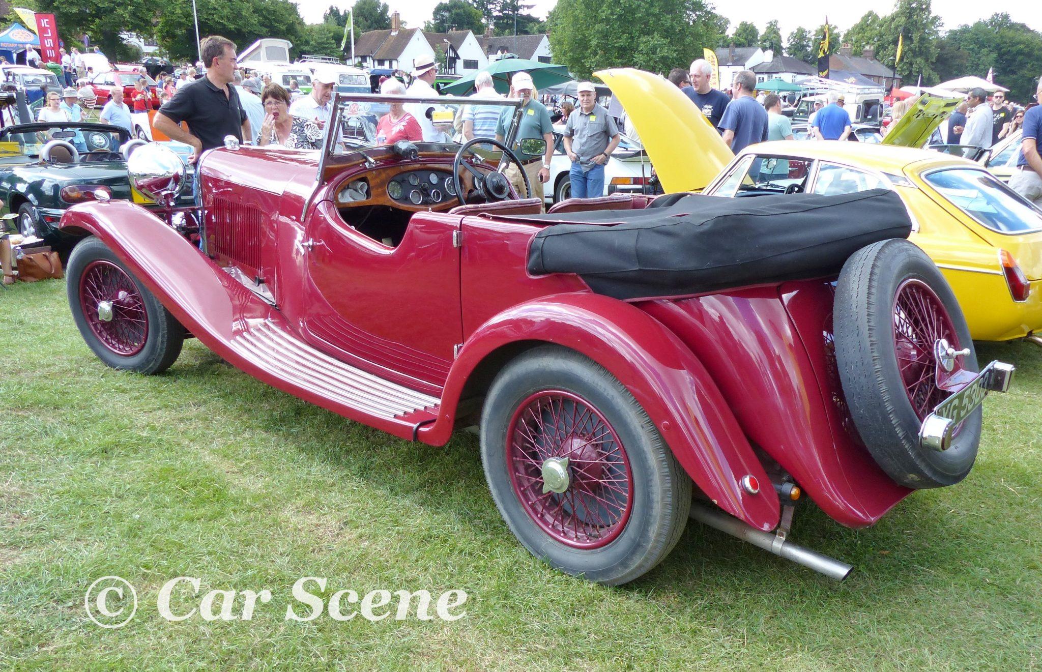 c.1934 Lagonda 4 1/2 Lltr. Tourer rear three quarters view