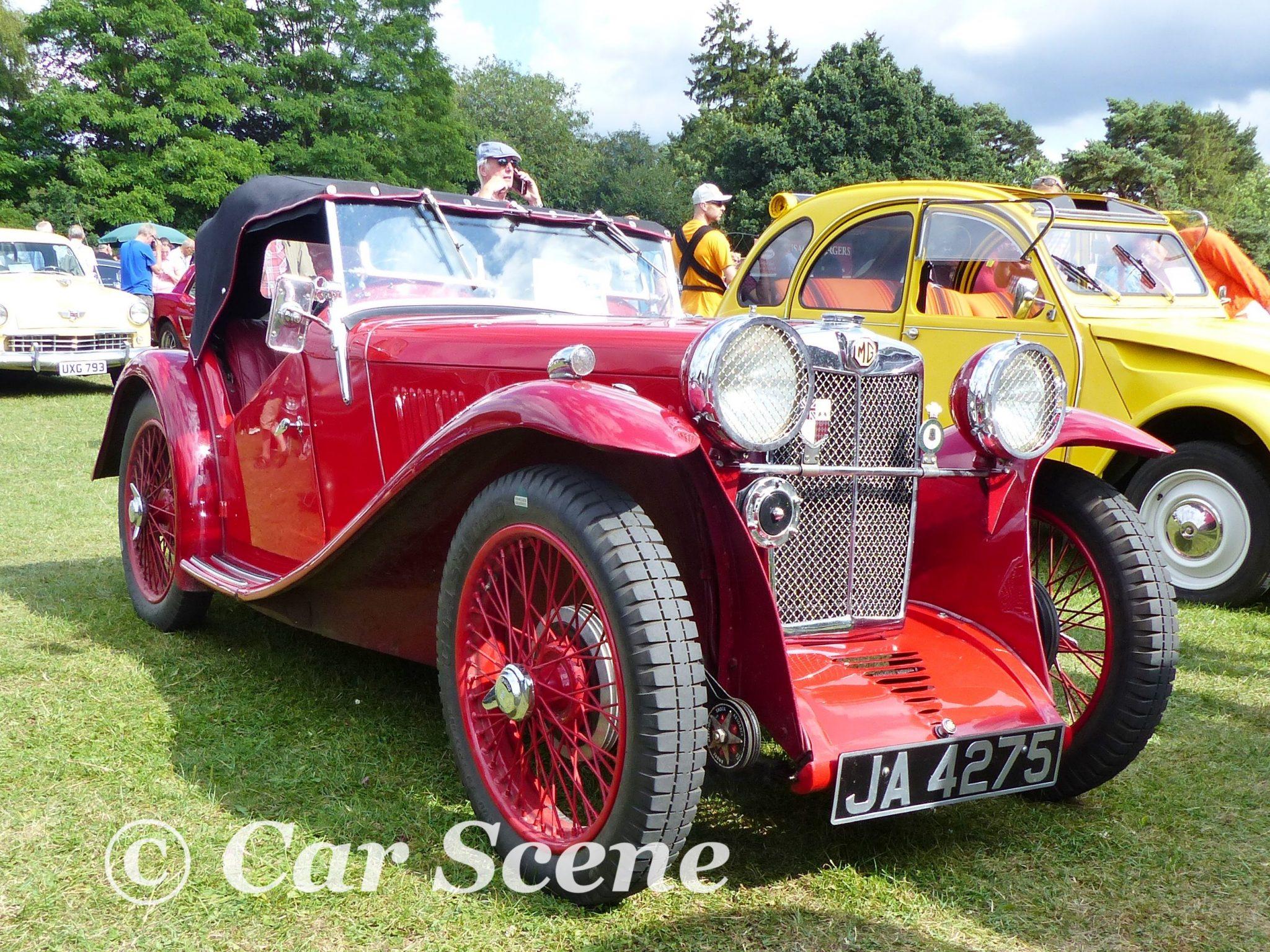 1934 MG J2 front three quarters view