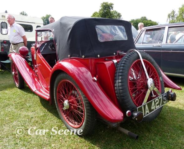 1934 MG J2 rear view