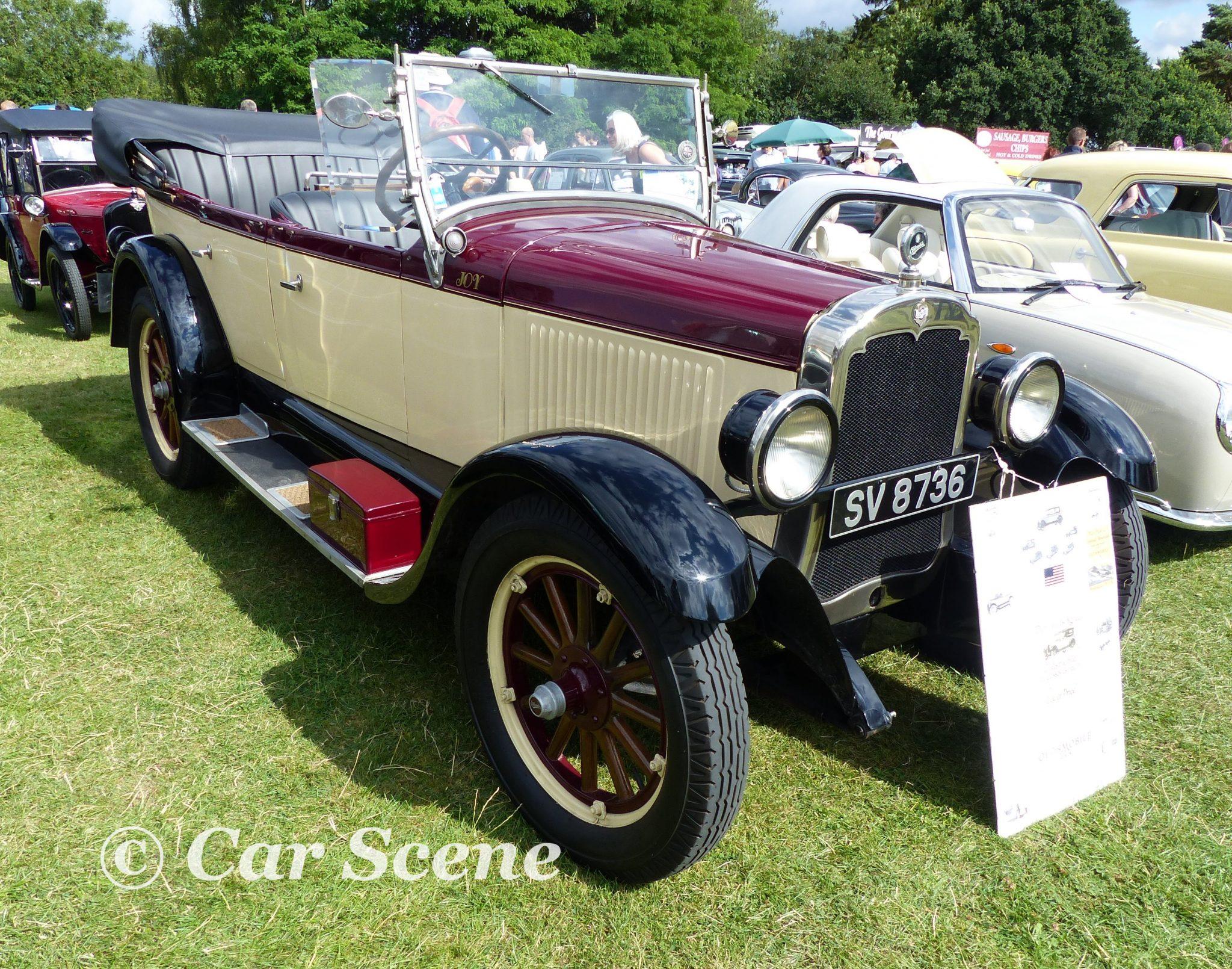 1926 Oldsmobile Model 30D Tourer front view
