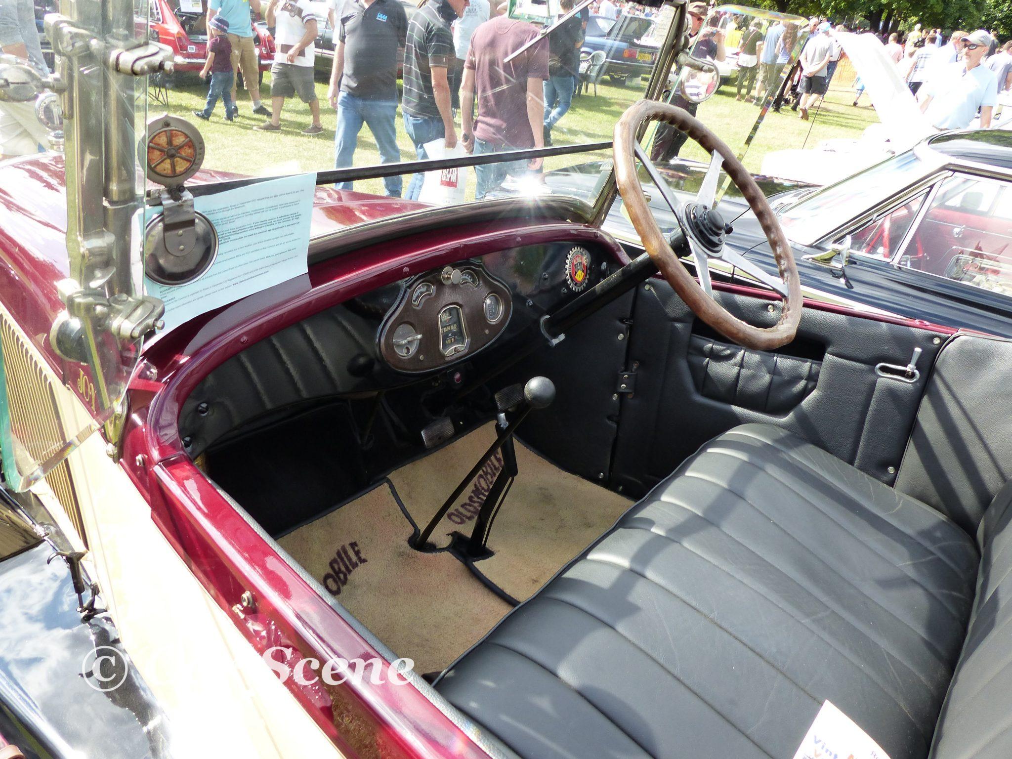 1926 Oldsmobile Model 30D Tourer Interior view
