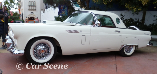 1955 Ford Thunderbird side view