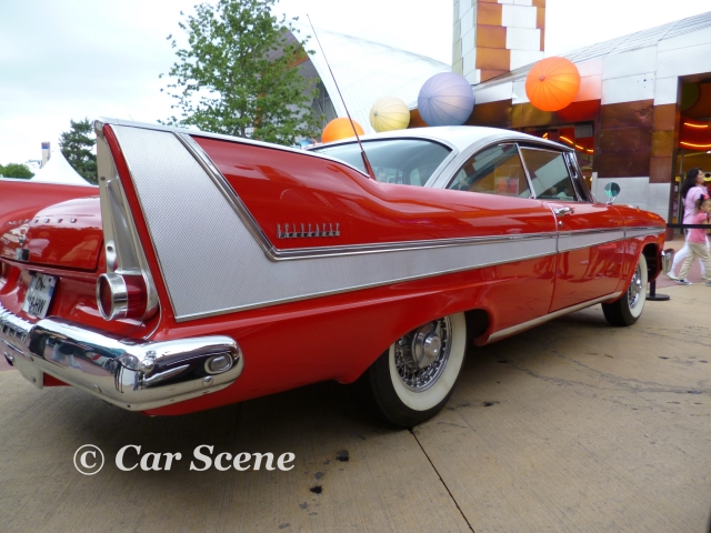 1958 Plymouth Belvedere rear side view