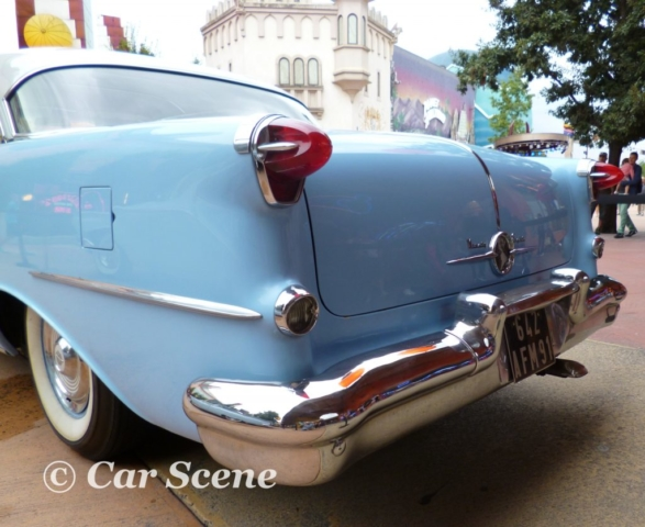 1955 Oldsmobile Rocket 88 Holiday rear view