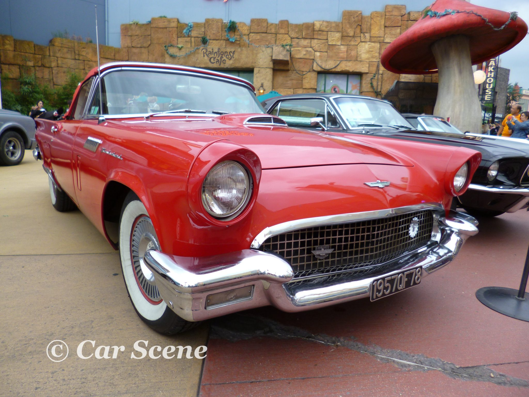 1957 Ford Thunderbird front view