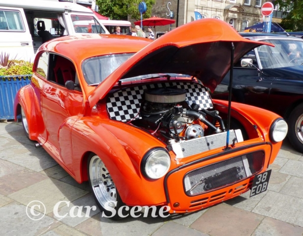 Morris Minor Hot Rod front three quarters view