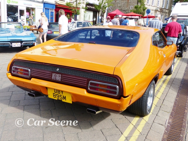 1972 Ford Mustang GT351 rear view