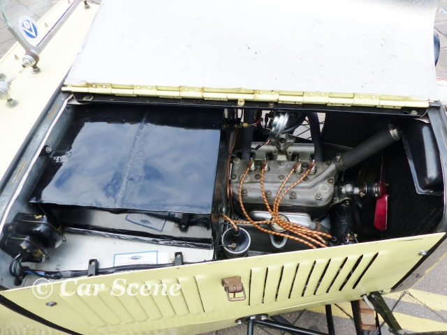 1927 Austin Ulster sports car engine view