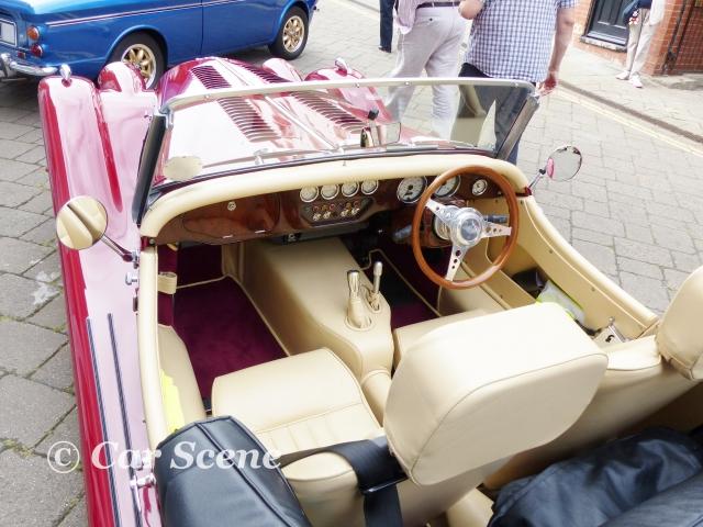 Morgan Plus 8 interior view