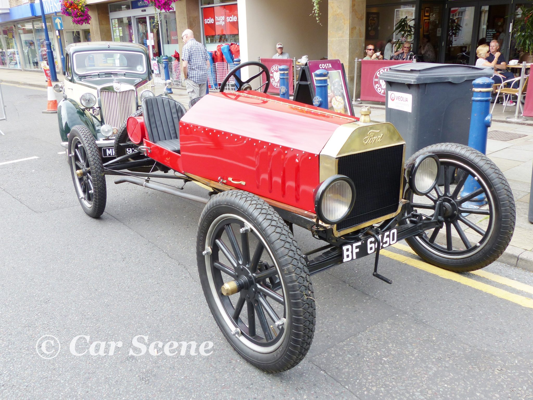 c.1912 Ford Model T  Speedster front three quarters view