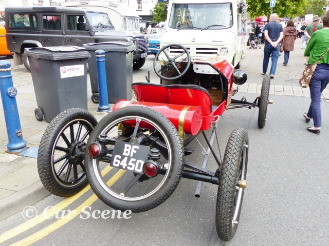 c.1912 Ford Model T  Speedster rear view