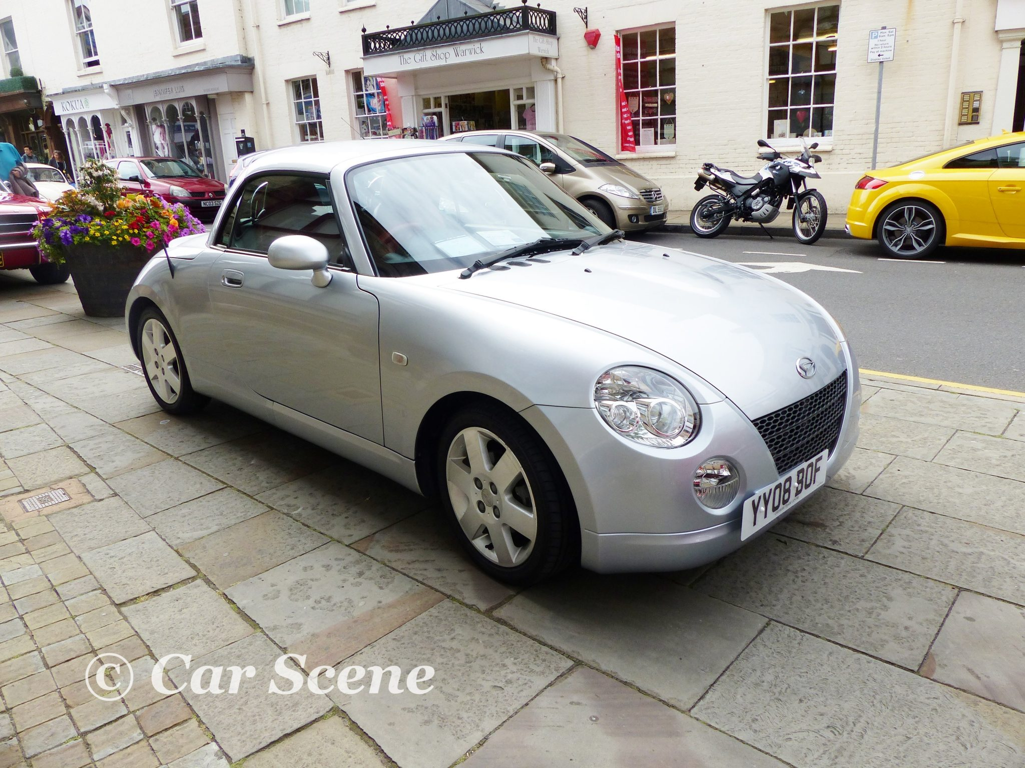 2008 Daihatsu 1.3Ltr. Copen front side view