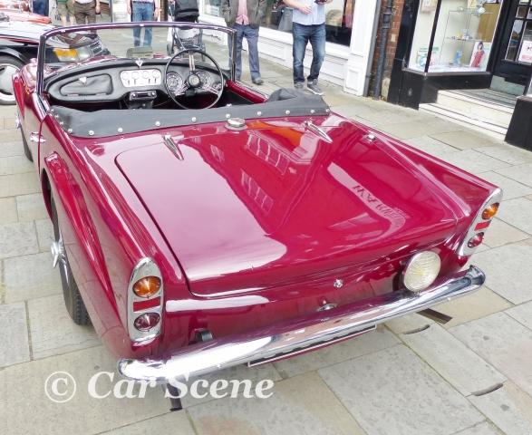 1960 Dailmler SP250 rear view