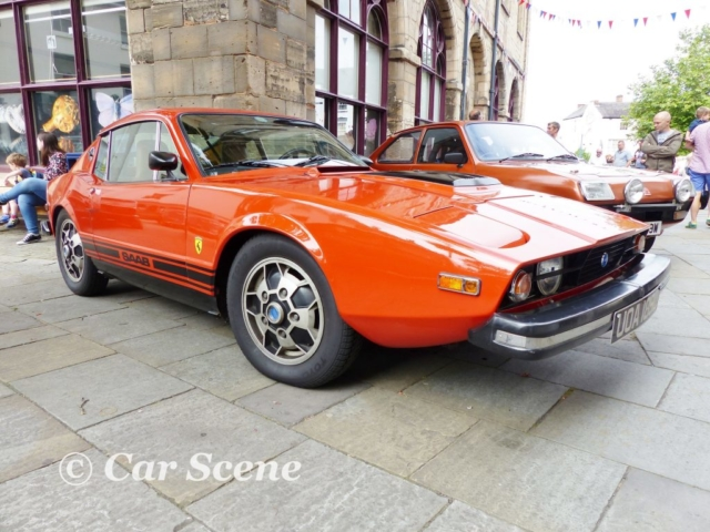 1972 Saab Sonett III front three quarters view