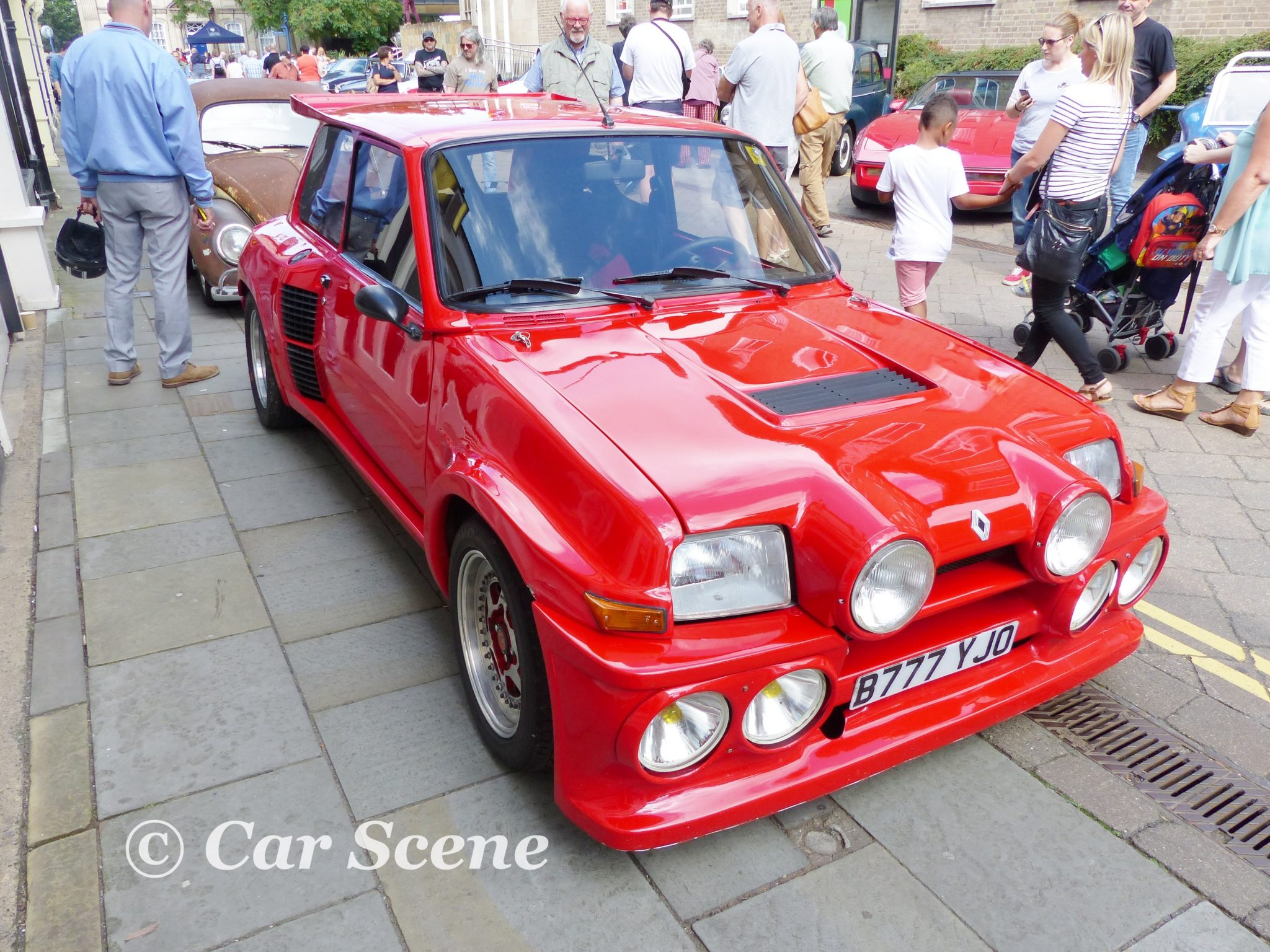 1980 - 84 Renault 5 Turbo with Body Kit front three quarters view