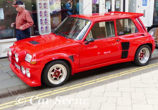 1980 - 84 Renault 5 Turbo with Body Kit side view