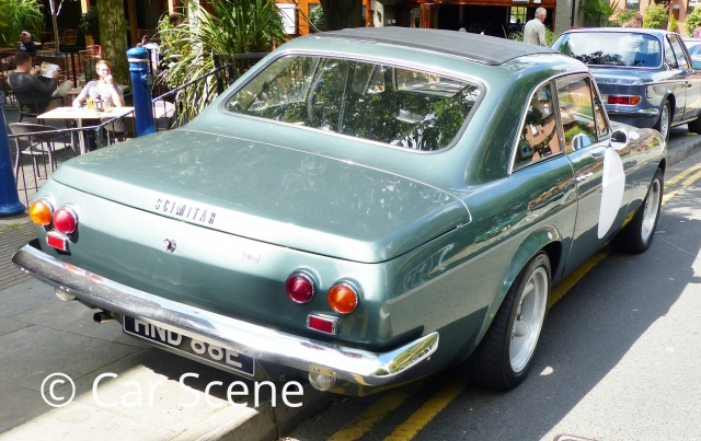 1964 > Reliant Scimitar GT rear three quarters view
