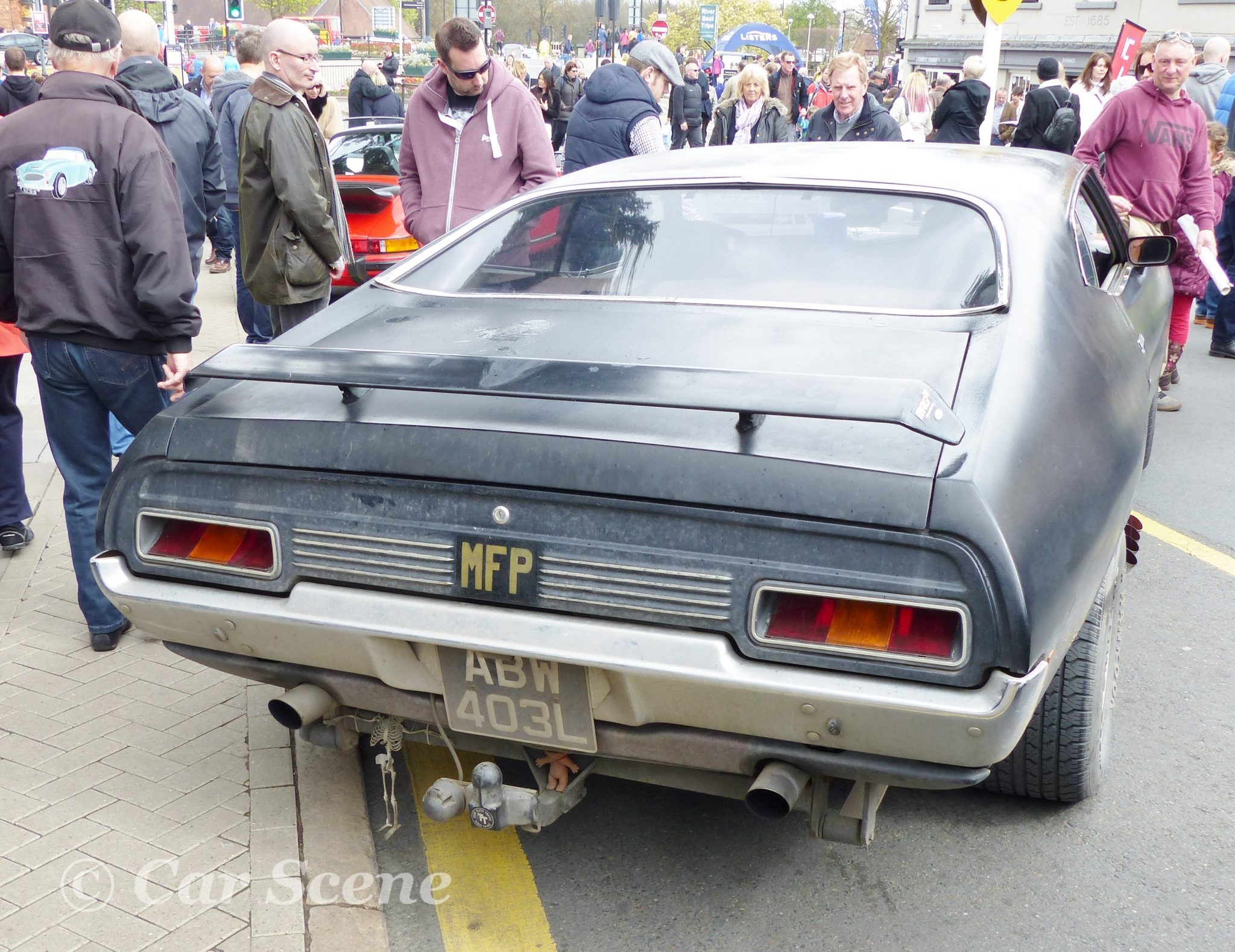 1973 Ford Falcon XA rear view