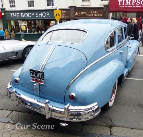 1948 Pontiac Silver Streak rear view