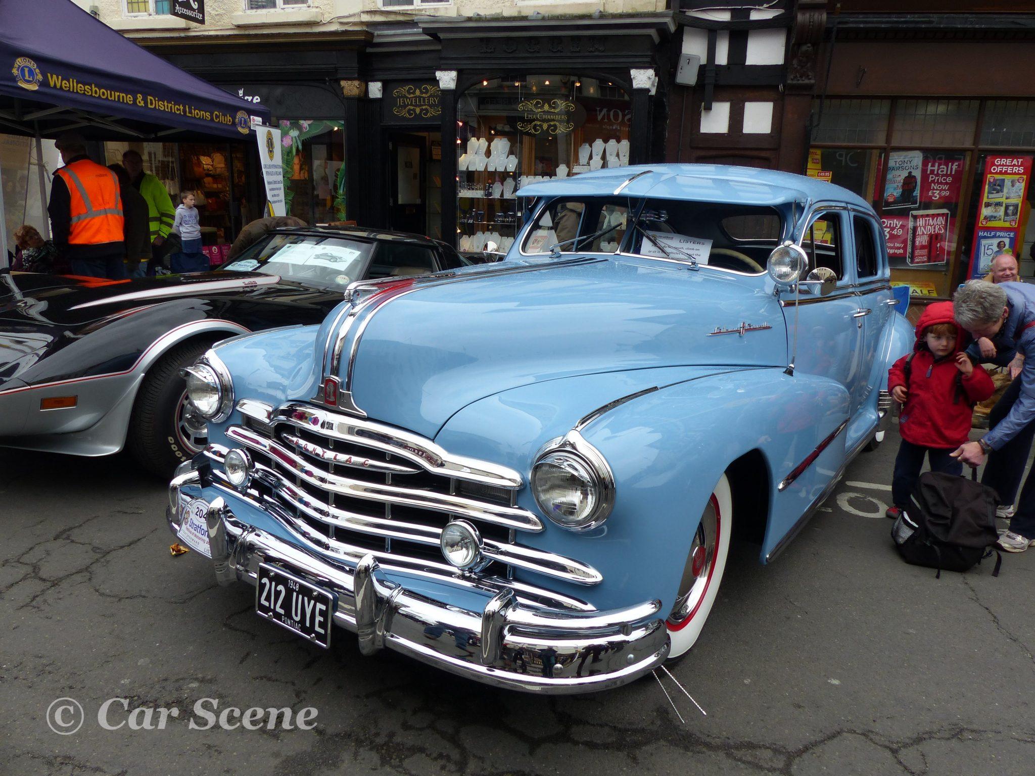 1948 Pontiac Silver Streak front view