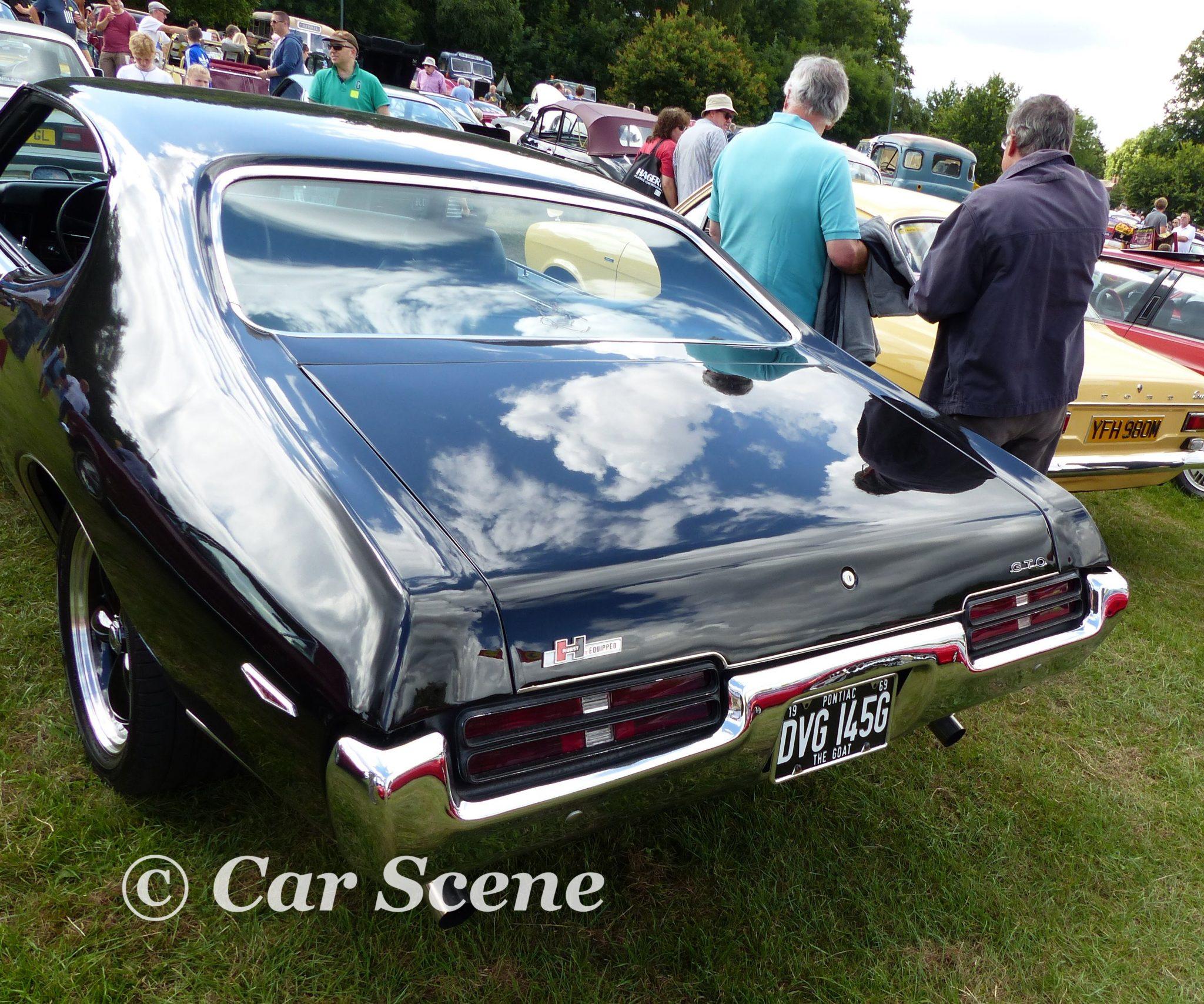 1968 Pontiac GTO rear view