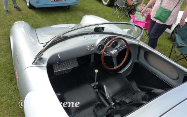 1955 Porsche 550 Spyder Cockpit view