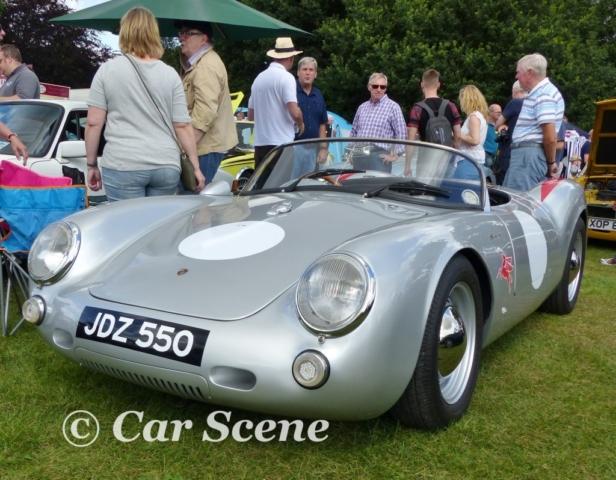 1955 Porsche 550 Spyder front view