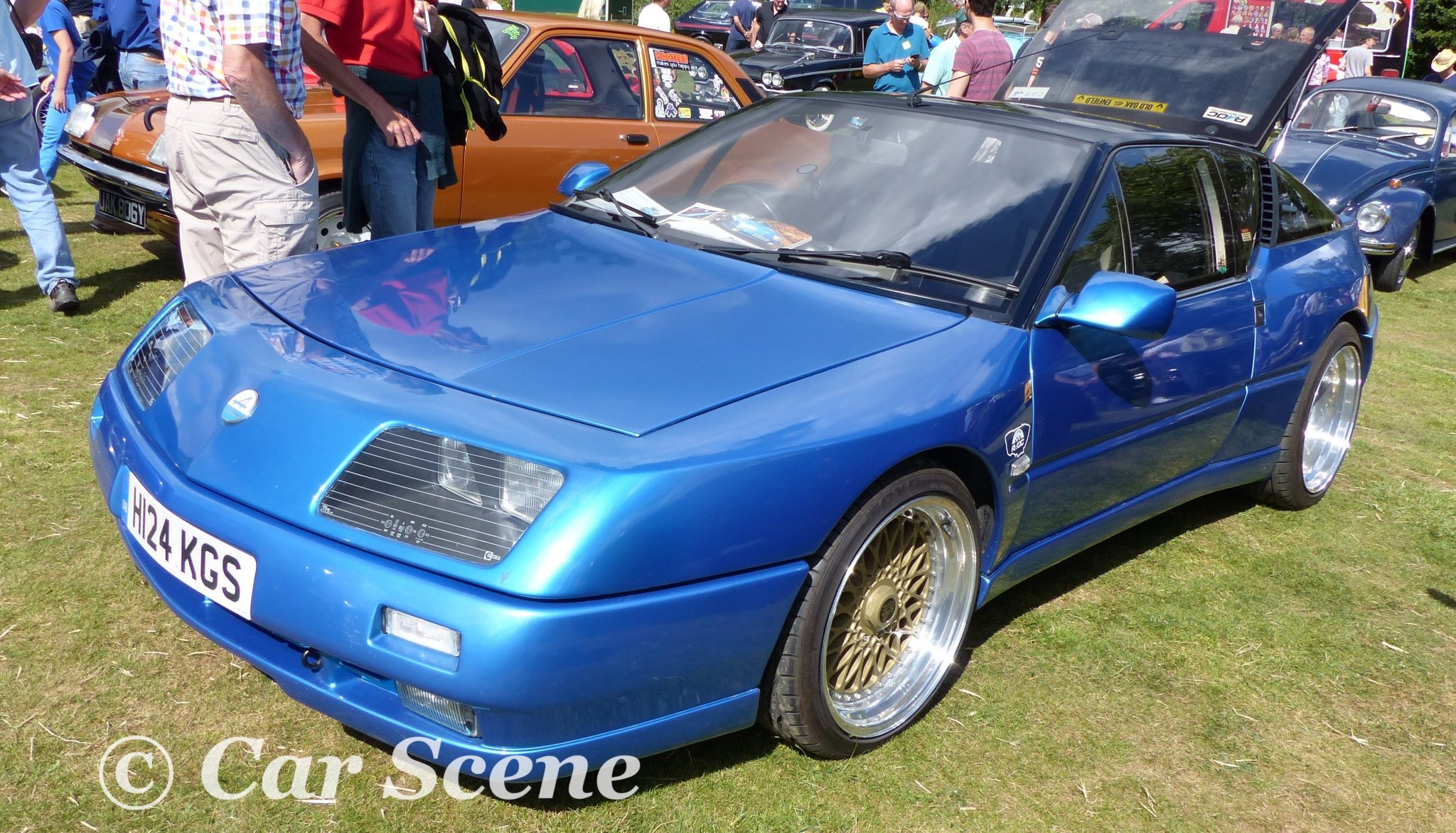 c1978 Reanault Alpine A310 front three quarters view