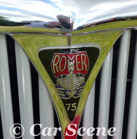 1949 Rover 75 (P3) grille badge