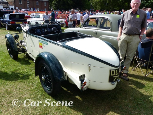 1937 Talbot in the style of a 1934 Alpine team model rear view