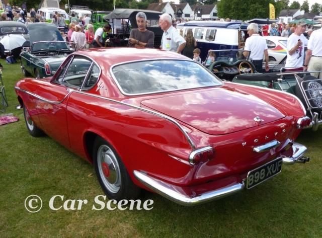 1961 Volvo P1800 rear three quarters view