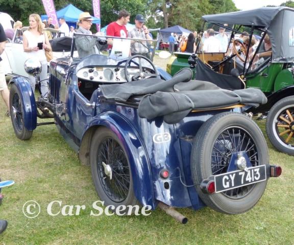 1932 Wolseley Hornet EW Dayton Special rear view