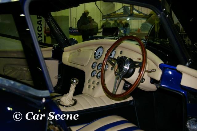 Dax Cobra 427 GT Interior view