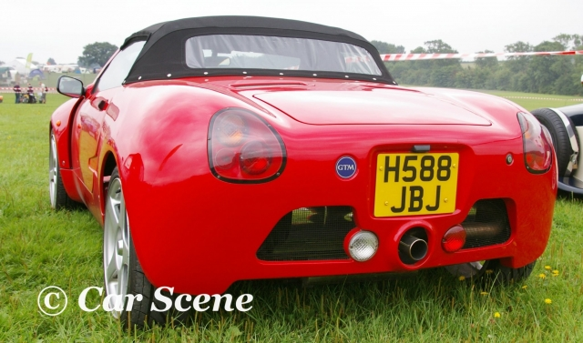 GTM Libra Spyder rear view