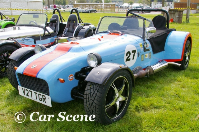 Tiger Racing Avon front three quarters view