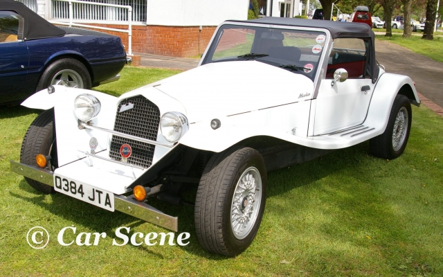 Marlin Roadster front three quarters view