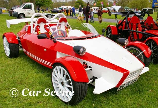 MEV Sonic 7 front three quarters view