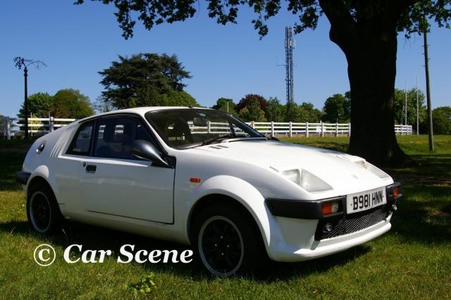 Midas Mini Based Kit Car front three quarters view