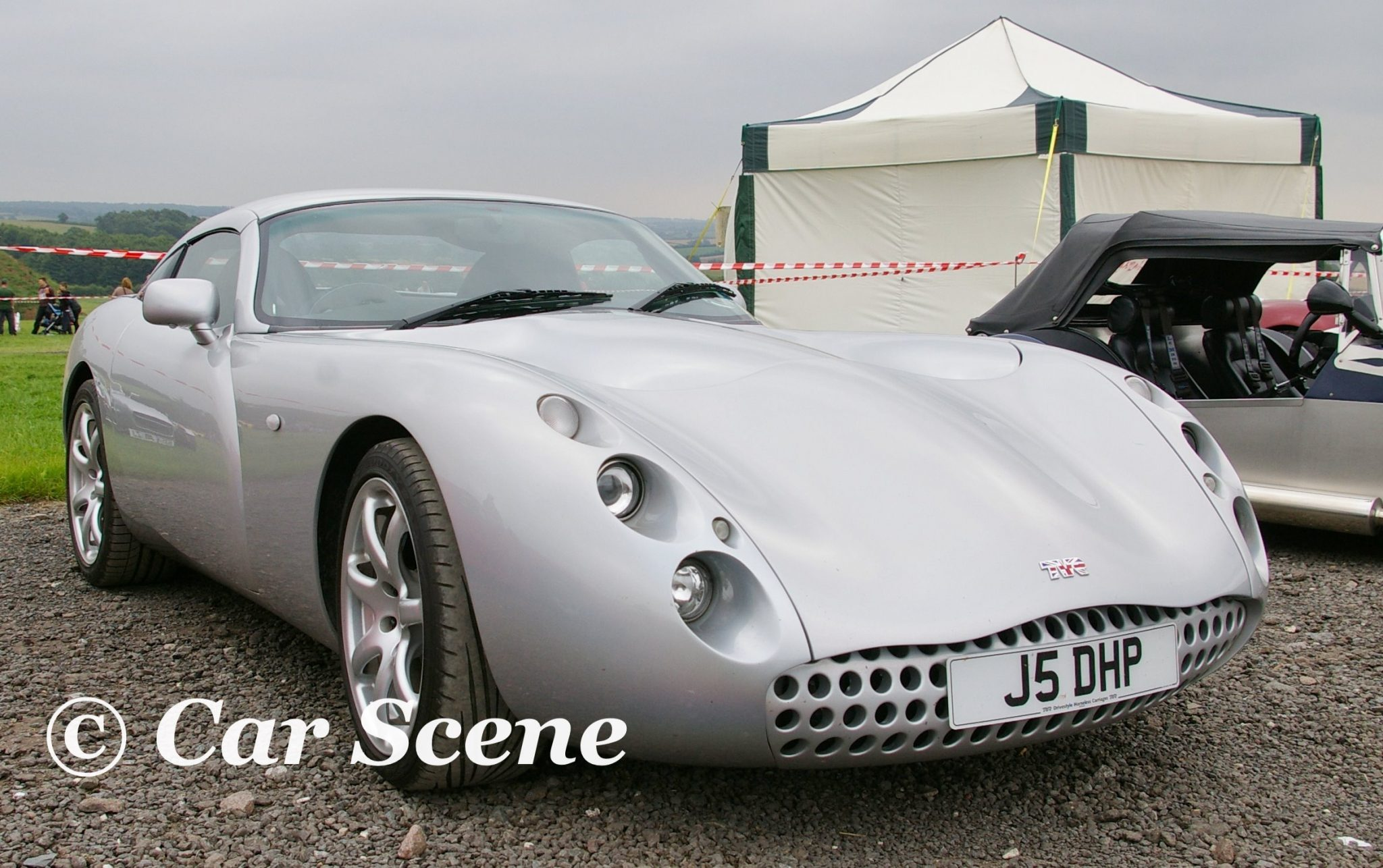TVR Tuscan front three quarters view