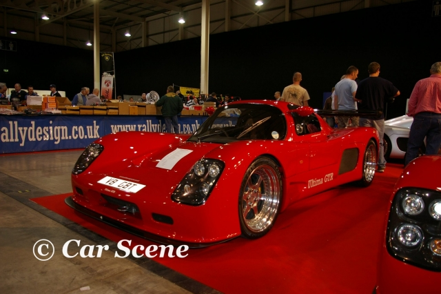 Ultima GTR front three quarters view