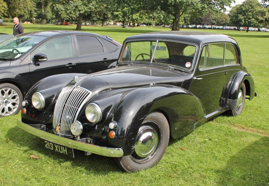 1952 AC 2.0Ltr. Saloon at Himley Hall