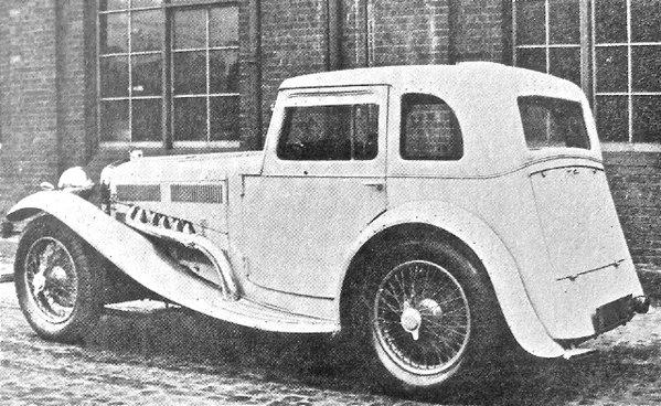 1932 Delage II Jensen
