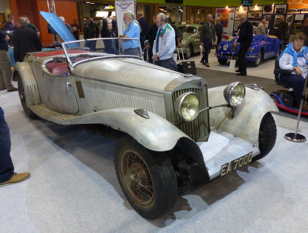 1936 Jensen White Lady