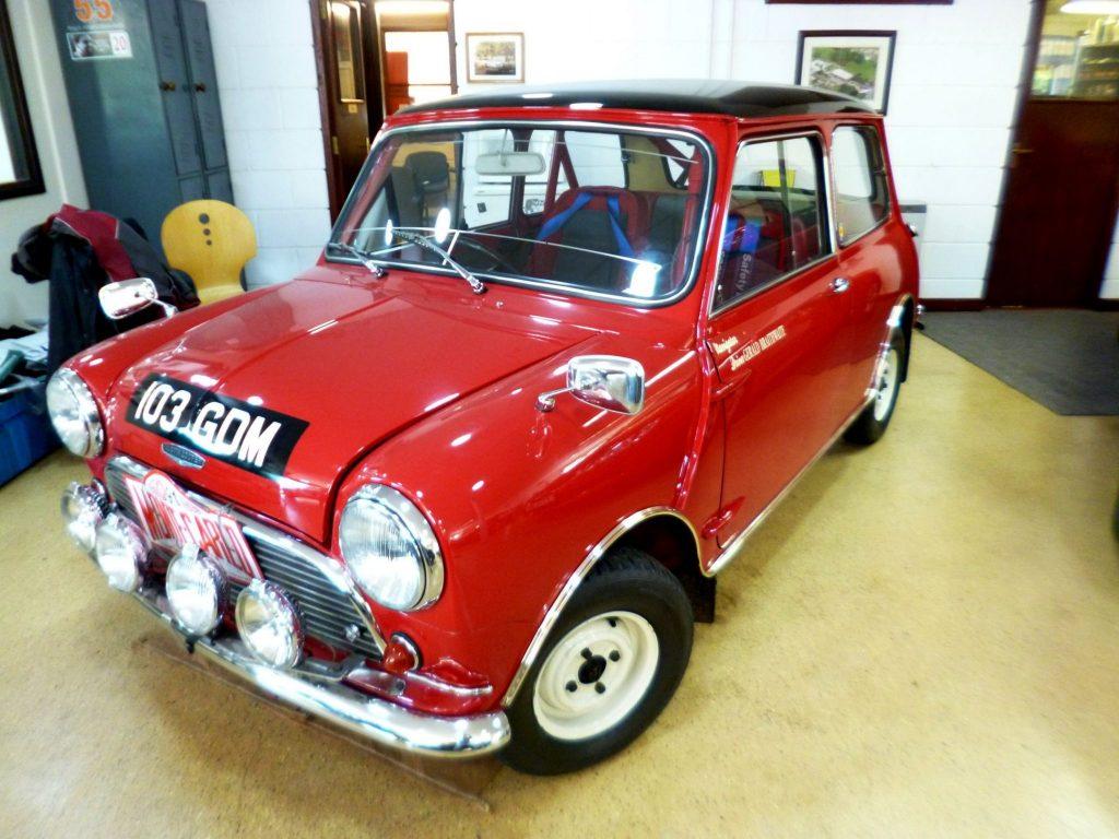 998 cc Mini Cooper