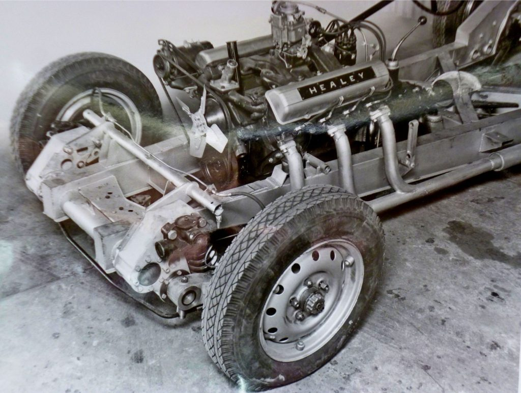 Healey Silverstone with Caddillac V8 engine