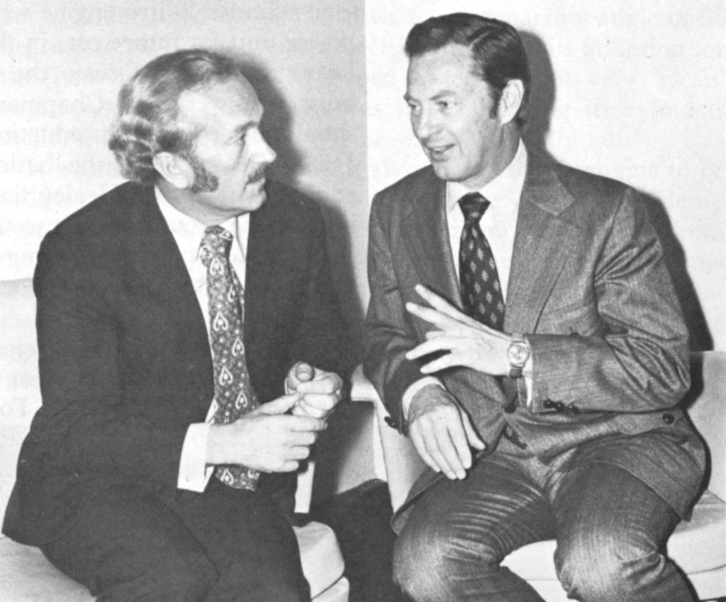 Colin Chapman and Kjel Qvale