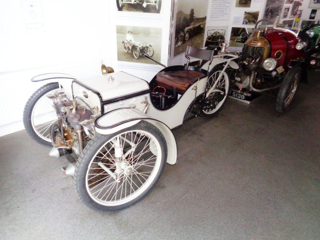 1909 Morgan Three Wheeler Replica at Morgan Museum
