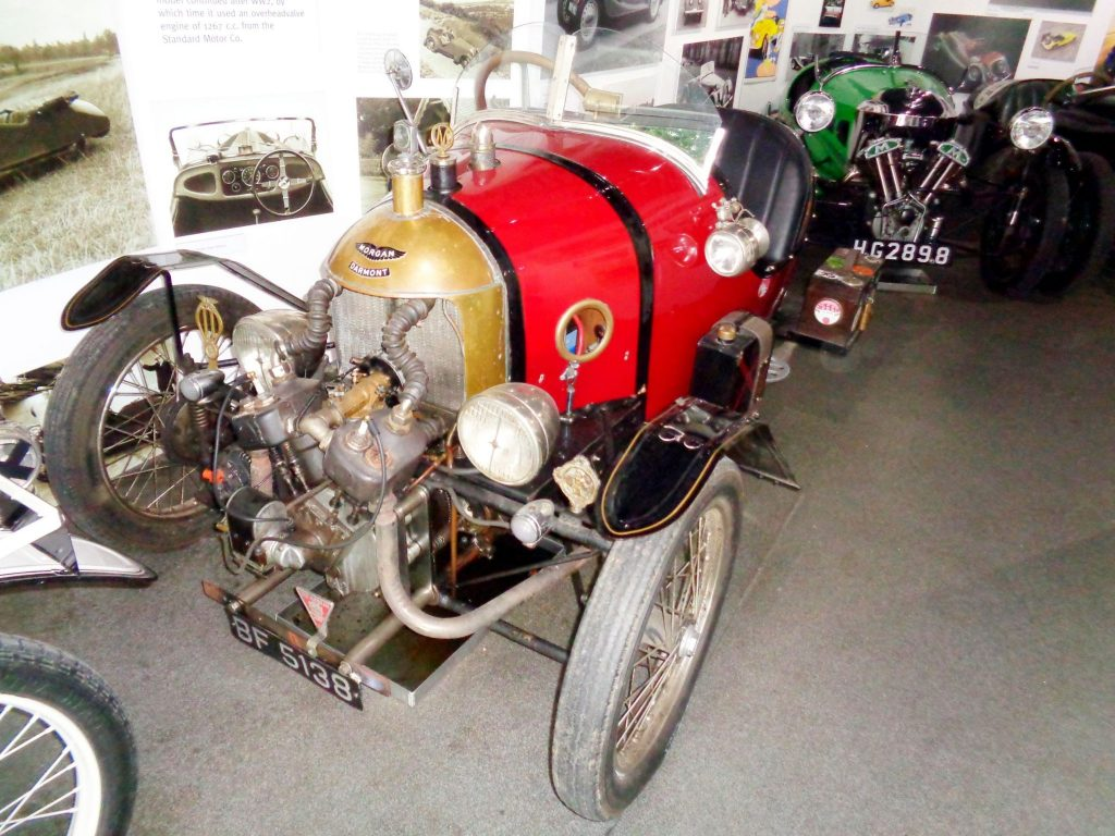 Early 1920s Water Cooled V2 Morgan Darmont made in France